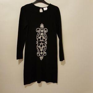 Hanna Andersson Black Sweater Dress